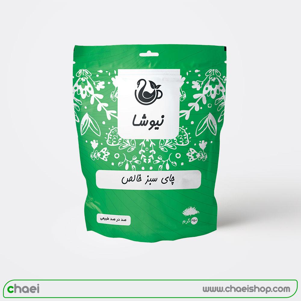 چای سبز ۳۵۰ گرمی دوی پک نیوشا