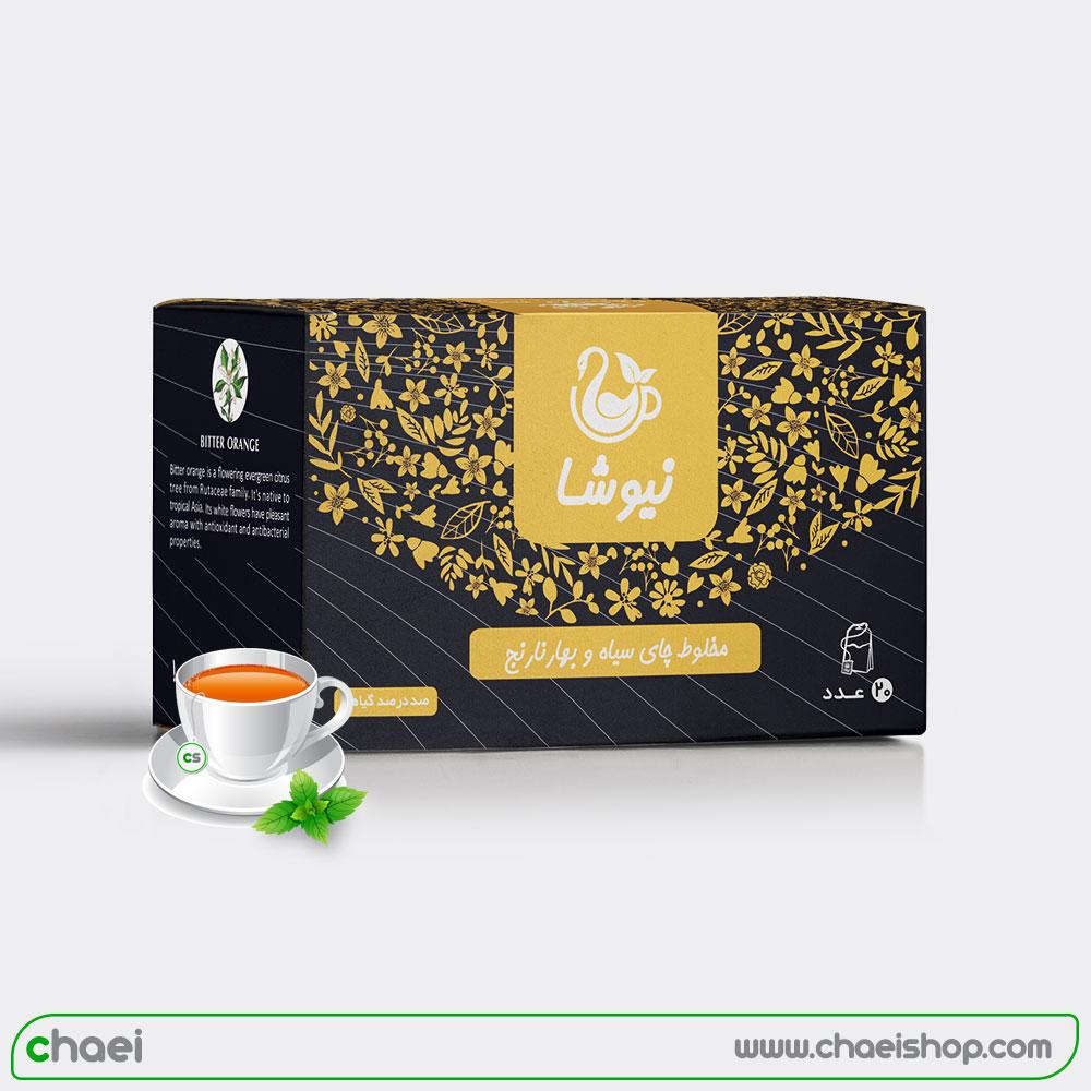 چای بهارنارنج کیسه ای نیوشا