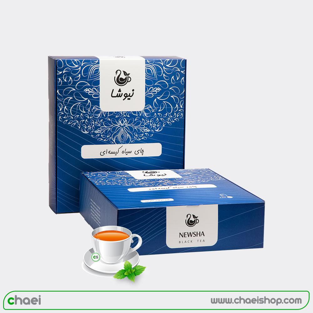 چای کیسه ای ۱۰۰ و ۱۶۰ عددی نیوشا