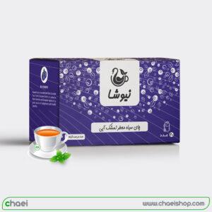 چای معطر تمشک آبی کیسه ای نیوشا
