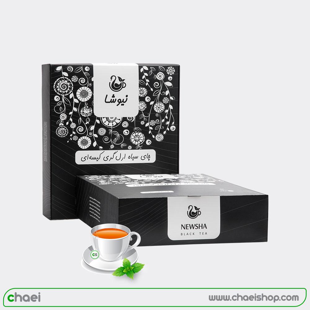 چای عطری ۱۶۰ عددی نیوشا