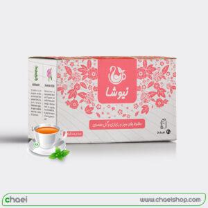 چای رزماری و گل محمدی کیسه ای نیوشا